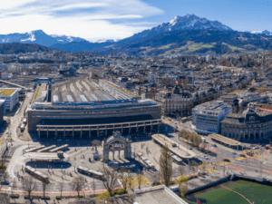 Testplanung Durchgangsbahnhof Luzern - Bahnhofsraum 2040