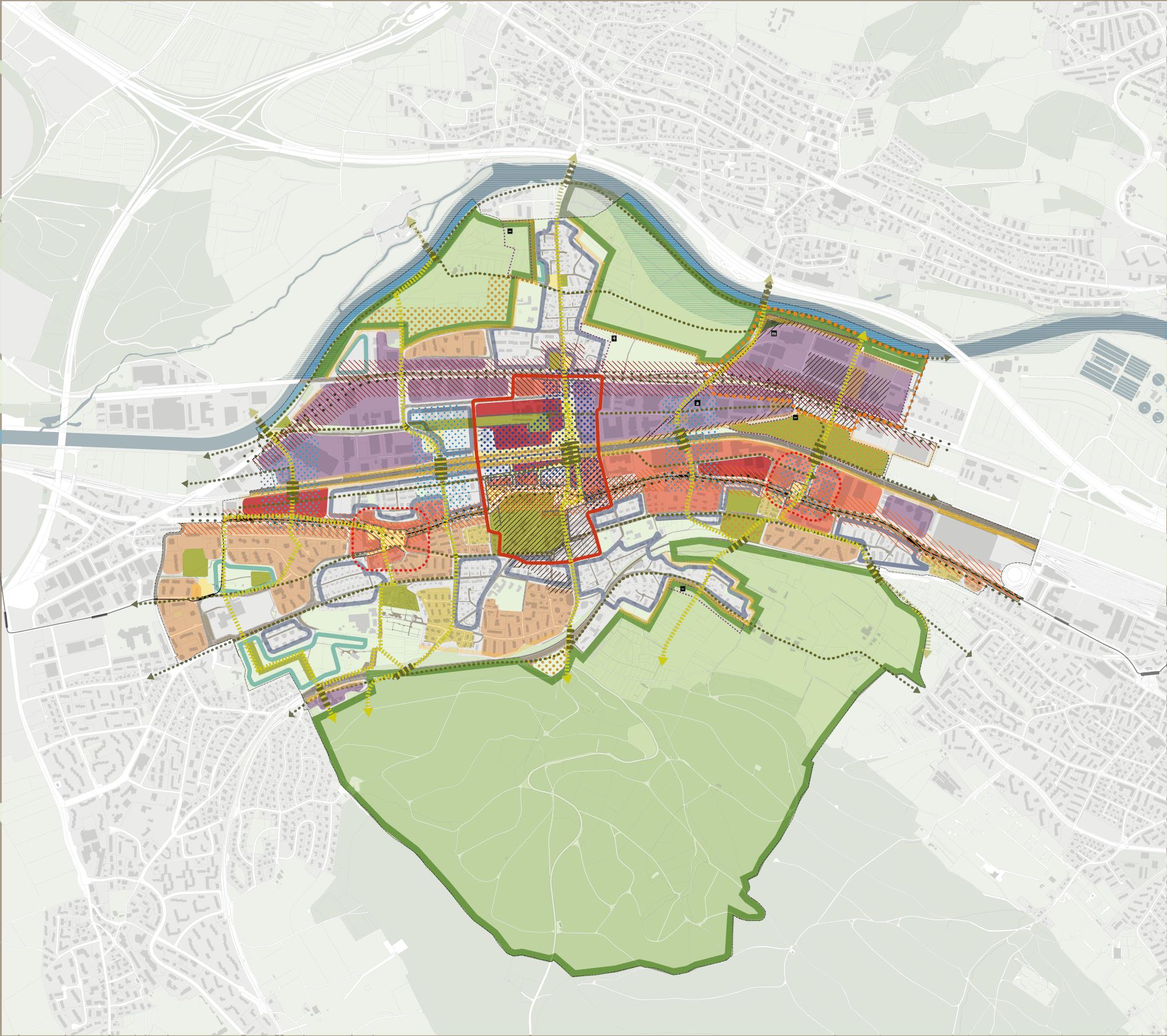 Kommunaler Richtplan Auflage Stadt Schlieren
