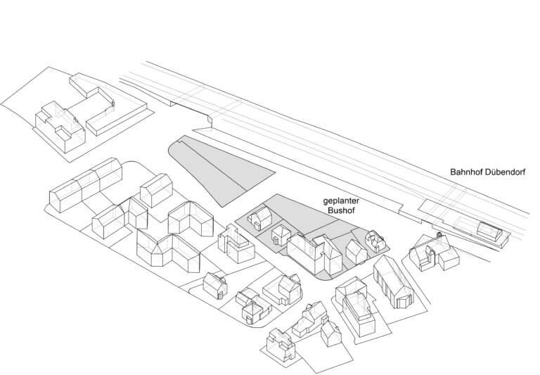 Ausgangslage zur Transformation der bestehender Siedlung