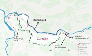 Grossräumiger Kontext Bad Zurzach