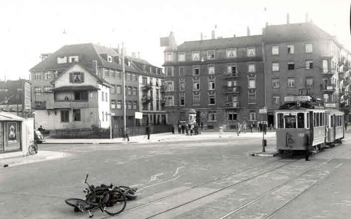 Bahnhof Wiedikon, altes Foto