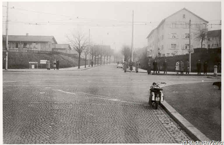 Altes Bild vom Bucheggplatz